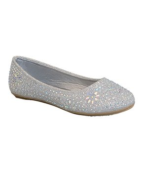 Belladia | Silver Coby Flat - Girls