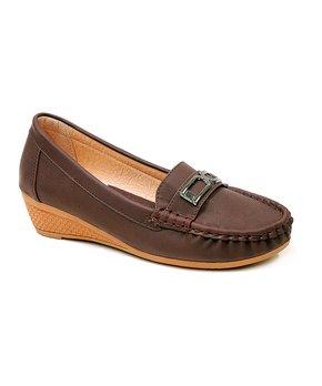 0429be6d90e Tan Genie Elastic Penny Loafer - Women. all gone. Spicy Footwear