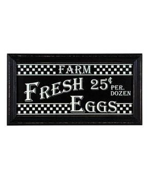 Transpac Metal Fresh Milk Chalkboard