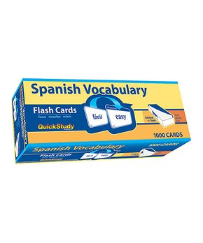BarCharts | Spanish Vocabulary Flash Card Set