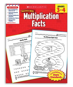 Scholastic Teaching Resources | Grades 3–4 Multiplication Facts Workbook