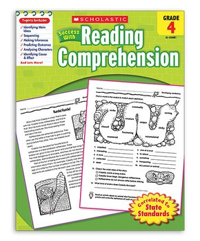 Scholastic Teaching Resources | Grade 4 Reading Comprehension Workbook