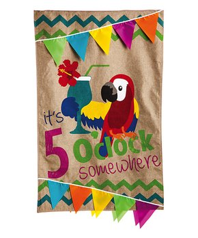 Evergreen | Large Backyard Birds Outdoor Flag