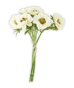 K&K Interiors | White Anemone Arrangement