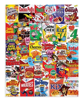 White Mountain Puzzles | Cereal Boxes 1,000-Piece Puzzle