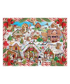 White Mountain Puzzles | Log Cabin Birdhouse 1,000-Piece Puzzle