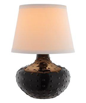 Catalina Lighting   Black Dot Table Lamp