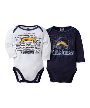 Kansas City Chiefs Two-Piece Long-Sleeve Bodysuit Set - Infant