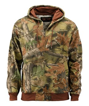 ae680ca5755ea all gone. Trailcrest | Brown Camo Hooded Fleece Jacket ...