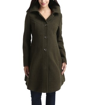 14ce24905ff0d ... Wool-Blend Maternity Peacoat. all gone