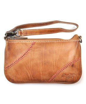 Rawlings | Tan Baseball Stitch Wristlet