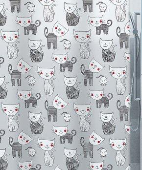 Moda at Home | Blackberry Mizzy Shower Curtain