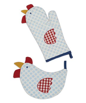 Design Imports | Rooster 'Rise & Shine' Dish Towel - Set of Two