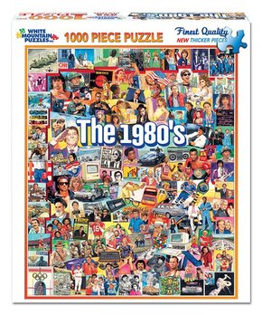 White Mountain Puzzles | The Eighties 1,000-Piece Puzzle