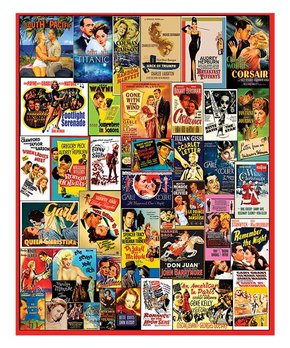 White Mountain Puzzles | Movie Posters 1,000-Piece Puzzle
