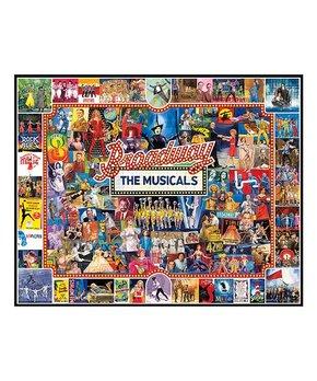 White Mountain Puzzles | Broadway 1,000-Piece Puzzle