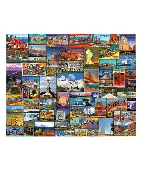 White Mountain Puzzles | Best Places in America 1,000-Piece Puzzle