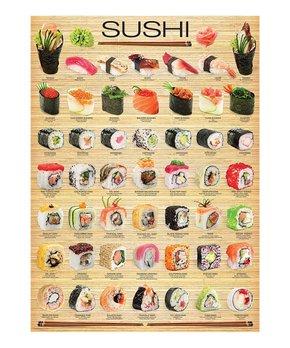 Eurographics | Sushi Chart 1,000-Piece Puzzle