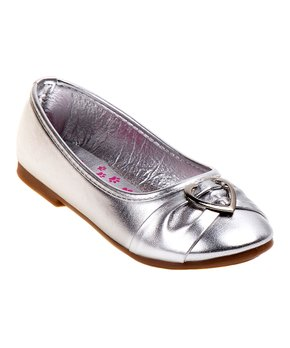Ositos Shoes | Gray Stud Ballet Flat - Girls