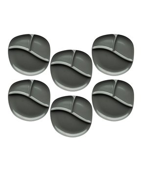 Zak Designs | Dover Moso Divided Bowl - Set of Six