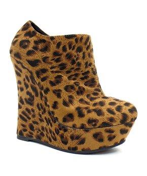 9cf93659d0c3 leopard in wedge bootie 106509 20167035.html