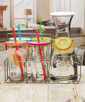 Circleware | Farm Fresh 38-Oz. Carafe & 15-Oz. Cooler Set