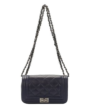 all gone. Giulia Massari   Blue Quilted Leather ... 89576387e4