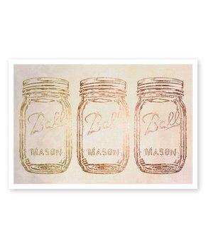 Oliver Gal | Copper Mason Print