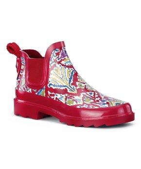 1e35bcbeb Sakroots | Black Floral Rhyme Rain Boot - Women · all gone
