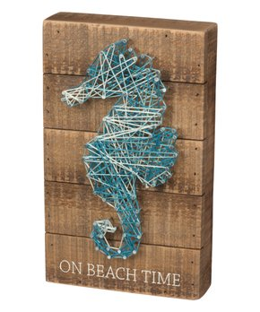 Primitives by Kathy | Seahorse String Wall Art