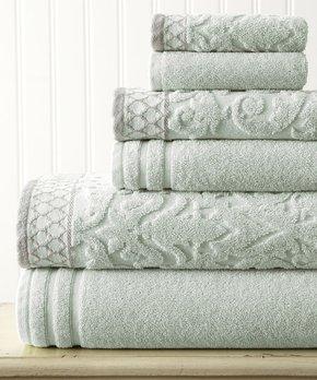 Affinity Home | Ivory Elegance Spa Luxurious Four-Piece Bath Towel Set