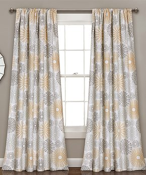 Duck River Textile | Black Solid Ashmury Blackout Curtain Panel - Set of Two