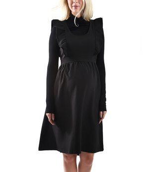 f595ef44889b8 all gone. Madeleine Maternity   Black Eden Maternity Dress