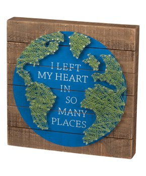 Primitives by Kathy | 'Isn't a Place' Wood Wall Sign