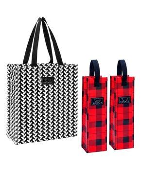 SCOUT Bags | Walk the Vine & Slumberjack Wine Tote Set