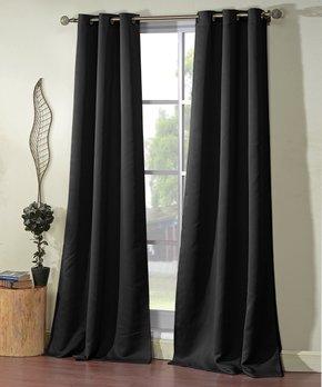 Duck River Textile | Blue Micah Blackout Curtain Panel - Set of Two