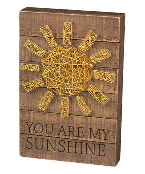 Primitives by Kathy | 'You Are My Sunshine' String Art