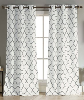 Duck River Textile | Gray Mason Curtain Panel - Set of Two