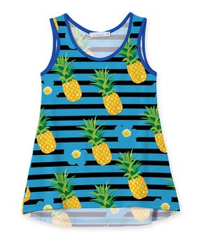 8d96b95ada80 pineapple paradise fringe tunic capri set toddler girls 278866 ...