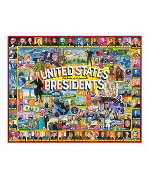 White Mountain Puzzles | United States Presidents 1000-Piece Puzzle