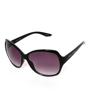 c7a4519d5 Betsey Johnson® | Gold & Purple Mirrored Rimless Round Sunglasses. all gone