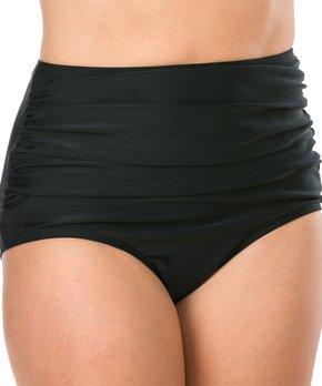 4380cdfbe64fa all gone. Ceeb | Ruched-Side High-Waist Bikini Bottom ...