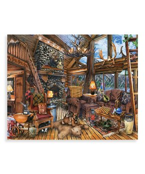 Cobble Hill | Winter Barnyard 350-Piece Family-Size Puzzle