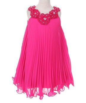 Fuchsia Dress 4T