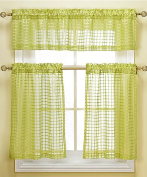 Duck River Textile | Gray Wilmont Three-Piece Curtain Panel Set
