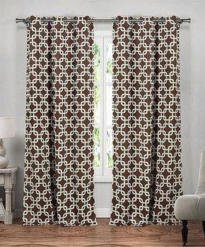 Lush Décor | Black Leopard Curtain Panel