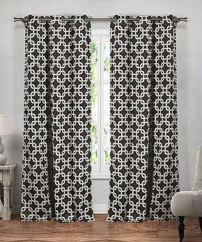 Duck River Textile | Aqua Blue Faux Silk Bali Curtain Panel - Set of Two