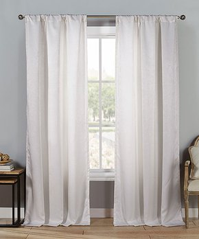 Duck River Textile | Black & White Helen Three-Piece Curtain Panel Set