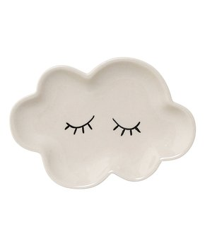 White Ceramic Smilla Cloud Plate
