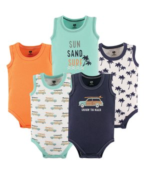 82459481c750 Bring On the 5-Pack Bodysuits: Baby | Zulily